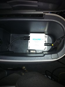 Center console with PA11
